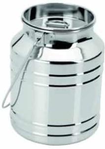 Ratna Akhand Barni Diamond  - 150 ml Stainless Steel Milk Container