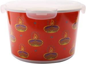 Ektra 3000 ml Melamine Multi purpose Storage Container Orange Best