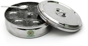 Coconut Masala Box  - 2500 ml Stainless Steel Spice Container