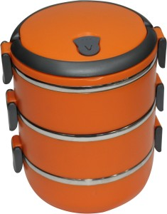 Blue Birds  - 1100 ml Stainless Steel Multi-purpose Storage Container