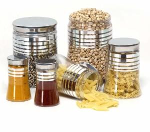 Steelo  - 2000 ml, 900 ml, 300 ml Plastic Food Storage