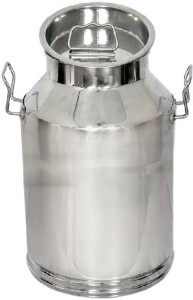 Corporate Overseas  - 15 L Silver Milk Container