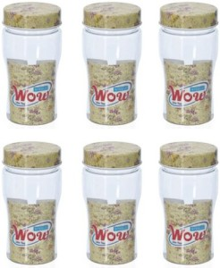 Steelo Wow - 200ml X 6 Plastic Food Storage(Pack of 6, beige)  - 200 ml Plastic Food Storage