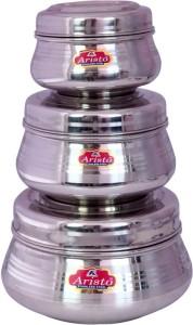 Aristo Houseware  - 625 ml, 1900 ml Stainless Steel Food Storage