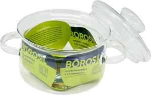 Borosil Gourmet Cook & Serve  - 1.5 L Glass Multi-purpose Storage Container