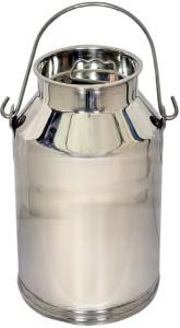 Corporate Overseas  - 15 L Silver Milk Container