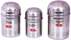 Aristo Houseware  - 350 ml, 750 ml Stainless Steel Tea, Coffee & Sugar Container