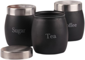 Dynore Barrel  - 1 L Stainless Steel Tea, Coffee & Sugar Container