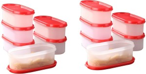 Tallboy Mahaware (Microwaveable) space saver Red lid  - 600 ml Polypropylene Multi-purpose Storage Container
