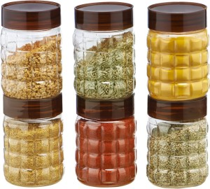 Steelo Steelo 200ml x 6 pcs PET Container Set (Solitaire)  - 200 ml Plastic Food Storage