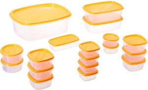 Shrih  - 4.6 L, 1.15 L, 225 ml, 100 ml, 275 ml, 225 ml, 100 ml Plastic Multi-purpose Storage Container