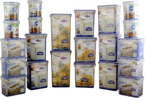 Lock & Lock Classic Container Set of 22pcs  - 1.8 L, 1 L, 2.4 L, 2.6 L, 560 ml Polypropylene Multi-purpose Storage Container