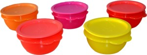 Tupperware Star Bowls (Set of 5)  - 500 ml Plastic Food Storage