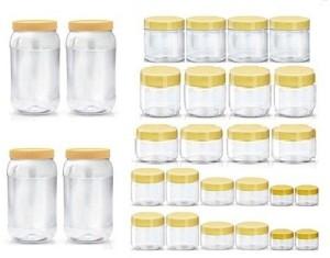 Sunpet BONITO 10FR9120-28  - 1500 ml, 250 ml, 200 ml, 150 ml, 100 ml, 50 ml, 30 ml Plastic Multi-purpose Storage Container