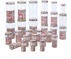 Steelo Wow  - 200 ml, 300 ml, 500 ml, 750 ml, 1500 ml Plastic Food Storage