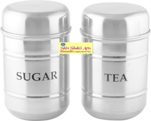 SSA Storage  - 700 ml Stainless Steel Tea, Coffee & Sugar Container