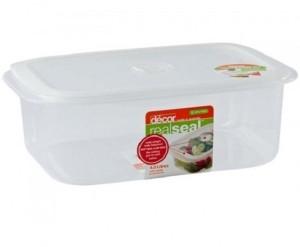 Decor Realseal Oblong 4.0 L  - 4000 ml Plastic Food Storage