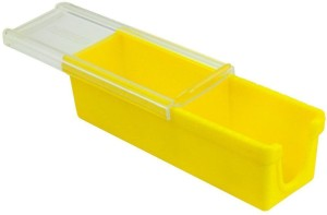 Shrih Butter Keeper And Slicer Cutter  - 1 L Plastic, Silicone Multi-purpose Storage Container