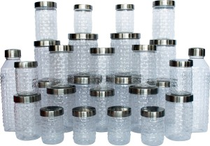 Princeware  - 250 ml, 500 ml, 750 ml, 1000 ml, 1800 ml Plastic Multi-purpose Storage Container