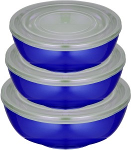 Golddust Airtight Microwave Safe  - 1500 ml, 1000 ml, 500 ml Stainless Steel Multi-purpose Storage Container