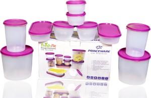 Princeware  - 2300 ml, 1000 ml, 900 ml, 500 ml, 310 ml Plastic Multi-purpose Storage Container