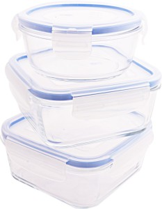 LUMINARC  - 420 ml, 760 ml, 820 ml Glass Food Storage