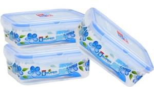 Super Plast Industries Super Lock Rectangle  - 500 ml Plastic Food Storage