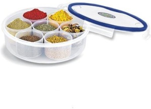 Lock & Fit Masala and Candy Plain  - 1000 ml Plastic Food Storage