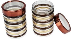 MeraHomeStore Discy  - 580 ml Glass Multi-purpose Storage Container