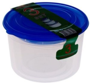 Trinity House Ware Collection  - 2.4 L Plastic Food Storage