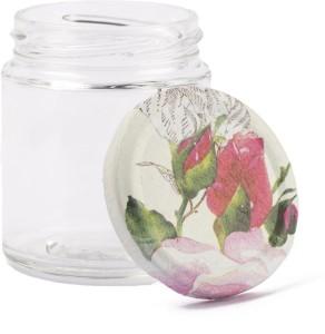 IAM Buds & Roses  - 200 ml Glass Multi-purpose Storage Container