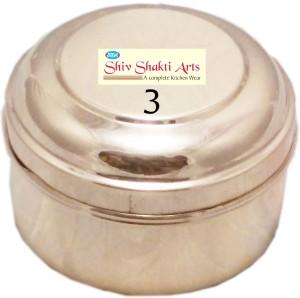 SSA Box No 3 With Lid  - 250 ml Copper Multi-purpose Storage Container