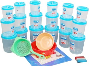 Chetan Multipurpose Kitchen Set  - 1000 ml, 2000 ml, 3000 ml Plastic Food Storage