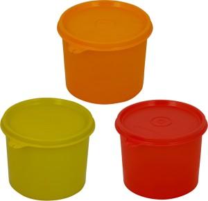 Tupperware Tupperware  - 600 ml, 600 ml, 600 ml Plastic Multi-purpose Storage Container