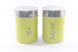 Clobber  - 250 ml Stainless Steel Tea, Coffee & Sugar Container