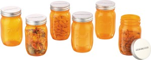 MasterCook Fresh Mason Jar  - 500 ml Plastic Food Storage