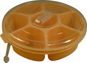 Paras Masala Box (Yellow)  - 700 ml Plastic Spice Container