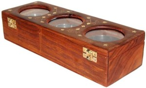 Acme Production  - 5 ml Wooden Multi-purpose Storage Container