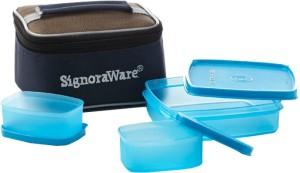 Signoraware Hot 'n' Cute Lunch Box With Bag  - 350 ml, 100 ml Plastic Food Storage