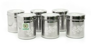 Coconut Foral Deep Dabba  - 350 ml Stainless Steel Food Storage