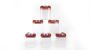 Cuttingedge FLIP LOCK  - 520 ml Plastic Multi-purpose Storage Container