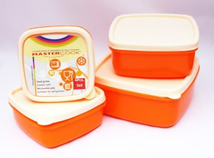 MasterCook  - 200 ml, 330 ml, 500 ml, 780 ml Polypropylene Multi-purpose Storage Container