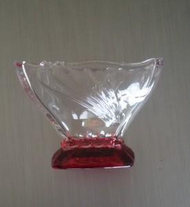 Magnusdeal Small Square Glass Bowl Set Of 3  - 300 ml Glass Food Storage
