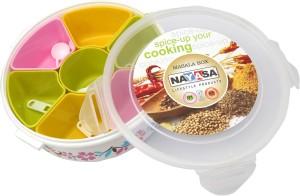 Nayasa Masala Box  - 1500 ml Plastic Spice Container