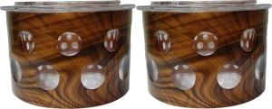 Golddust Selfie Dry Fruit Serving  - 400 ml Plastic Multi-purpose Storage Container
