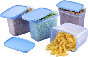 All Time Sleek - 4 Pieces Set  - 850 ml Plastic Food Storage