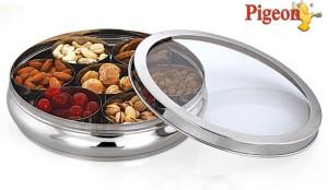 Pigeon Spice Box Steel  - 1000 ml Stainless Steel Food Storage