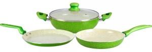 Wonderchef emerald set Cookware Set