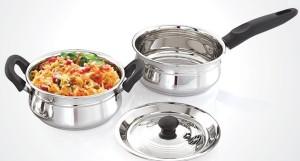 Mahavir Spark 3pc Induction & Lpg Compatible Cookware Set