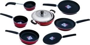 KG Star KG STAR 8 PCS COMBO Cookware Set
